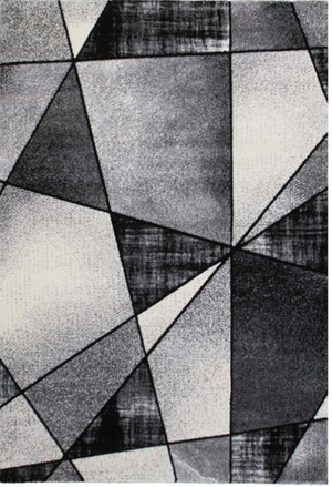 Emperor Abstract Gray Area Rug