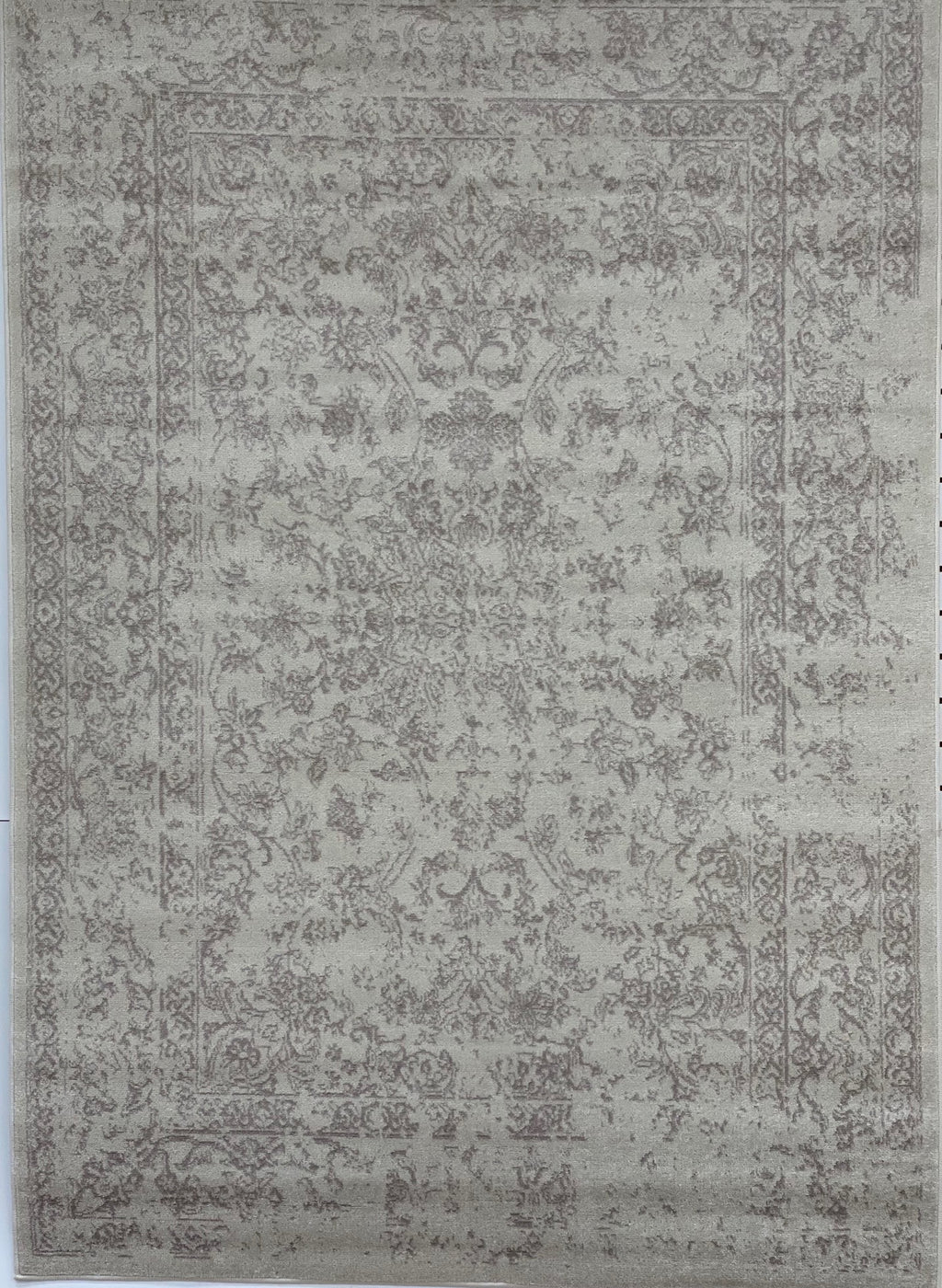 Logan Ivory Grey Traditional Persian Contemporary Area Rug