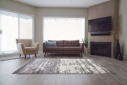 Mississauga Grey Cream Area Rug