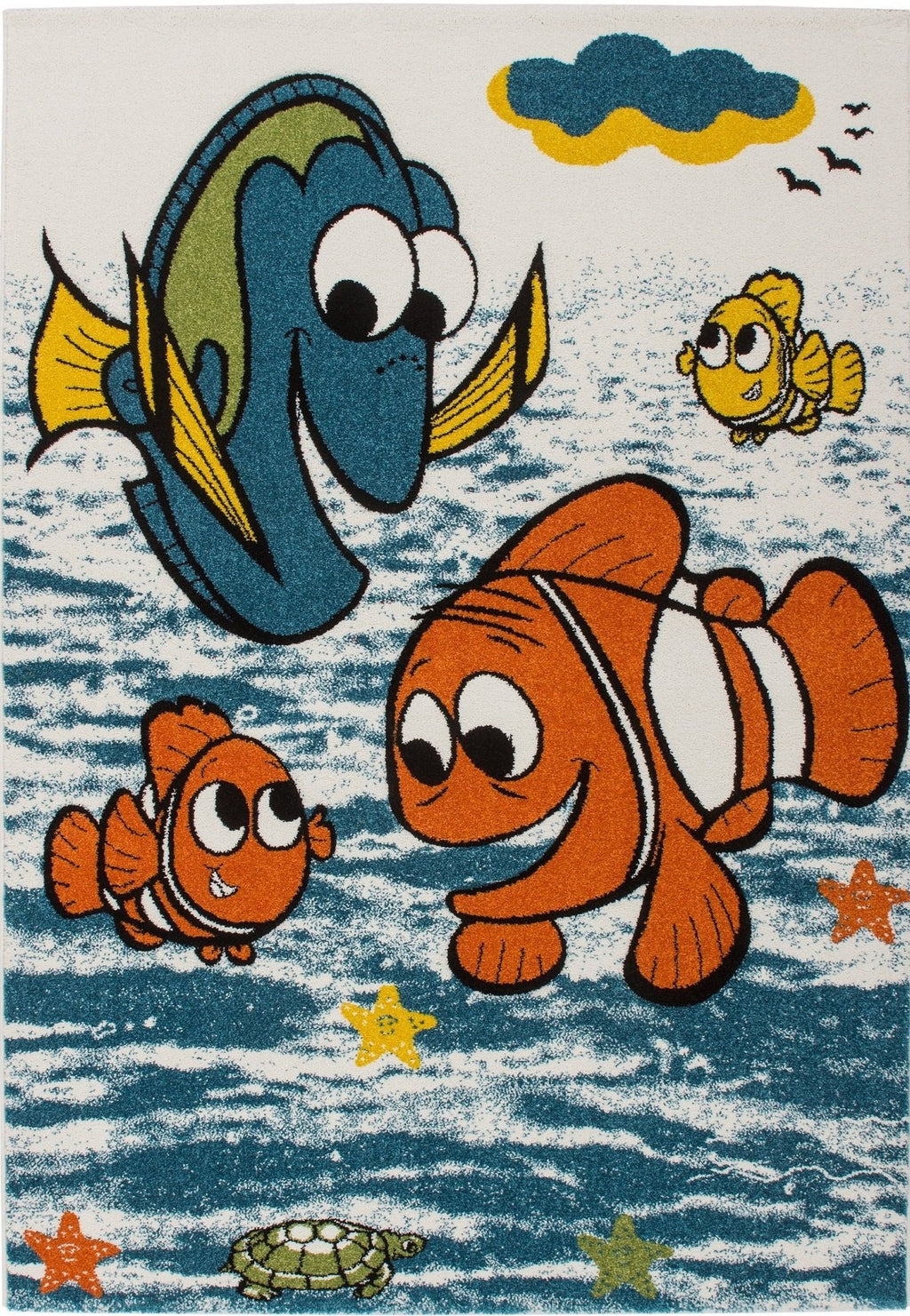 Moda Kids Finding Nemo Fish Area Rug -