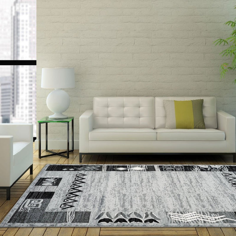 Nanaimo Light Grey Area Rug -
