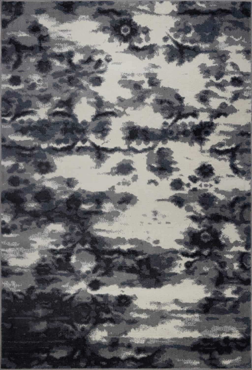 Oakridge Abstract Cream Gray Area Rug -
