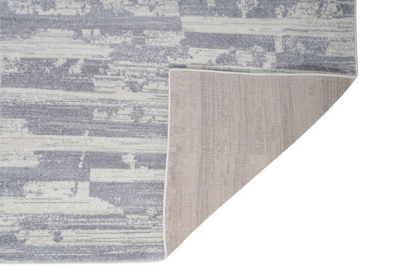 "Grey Ivory Abstract Area Rug Carpet Long Runner for Living Room Bedroom Hallway 2'7""x9'11"" (3x10 feet)"