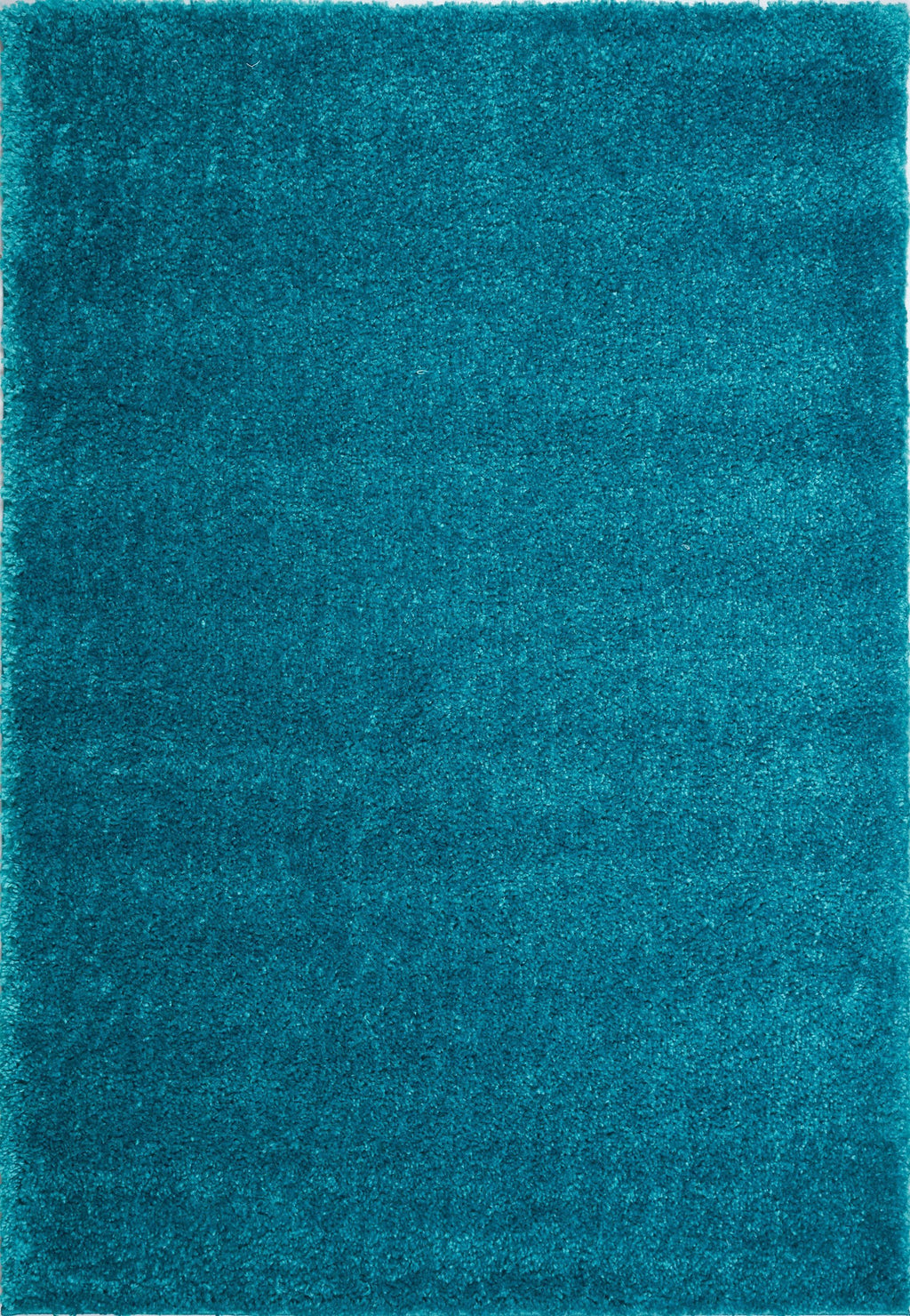 Candy Shaggy Turquoise Soft Plush Area Rug -