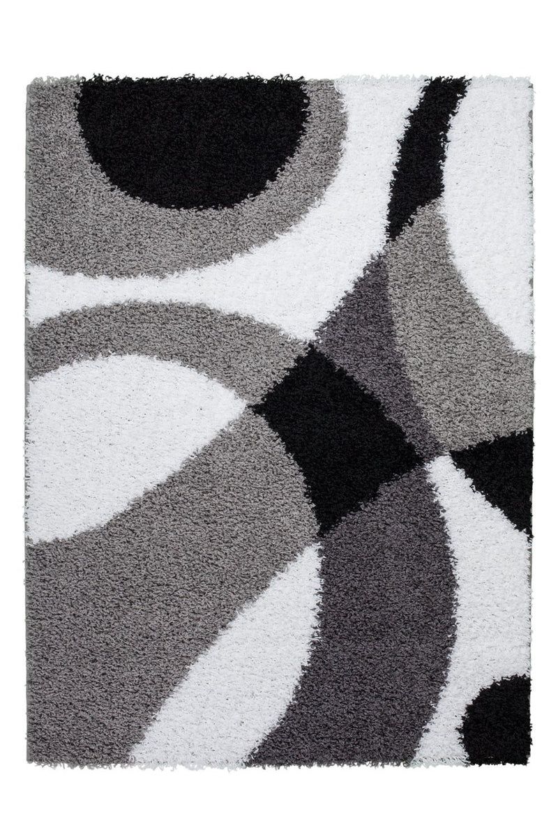 Area Rug Shaggy Turkish Grey