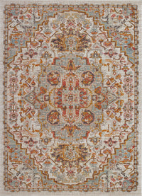 Frieda Cream Beige Indoor/Outdoor Area Rug