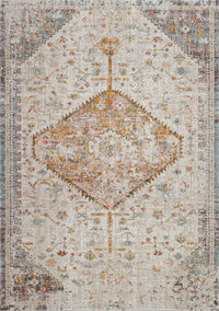 Tiffany Cream Beige Indoor/Outdoor Area Rug
