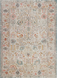Marigold Cream Beige Indoor/Outdoor Area Rug