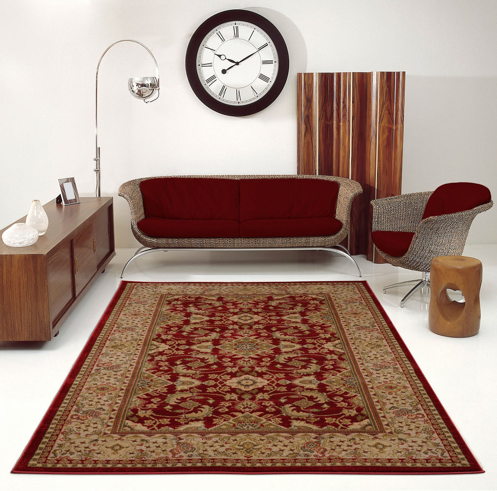Terra Red Area Rug -