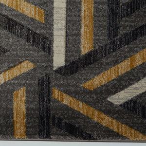 "Lynn Valley Grey Gold Mat 2'x3'3"" (60cm x 100cm)"