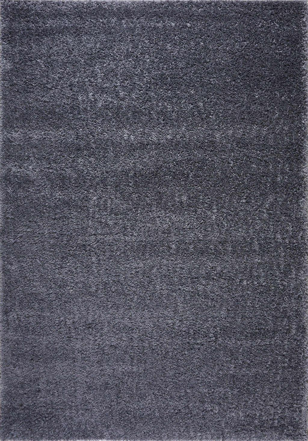 Solid Color Shaggy Meknes Durable Beautiful Turkish Rug in Gray