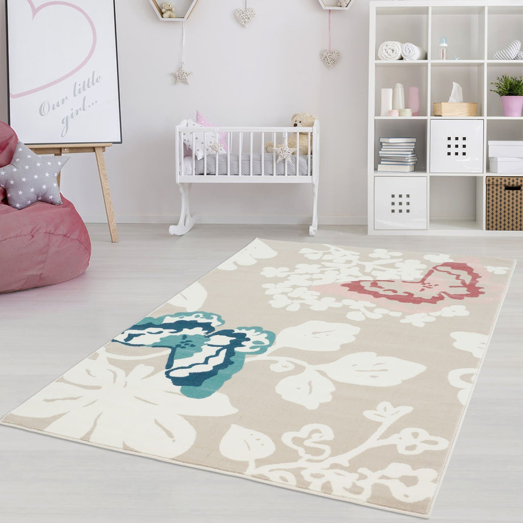BUTTERFLIES AREA RUG
