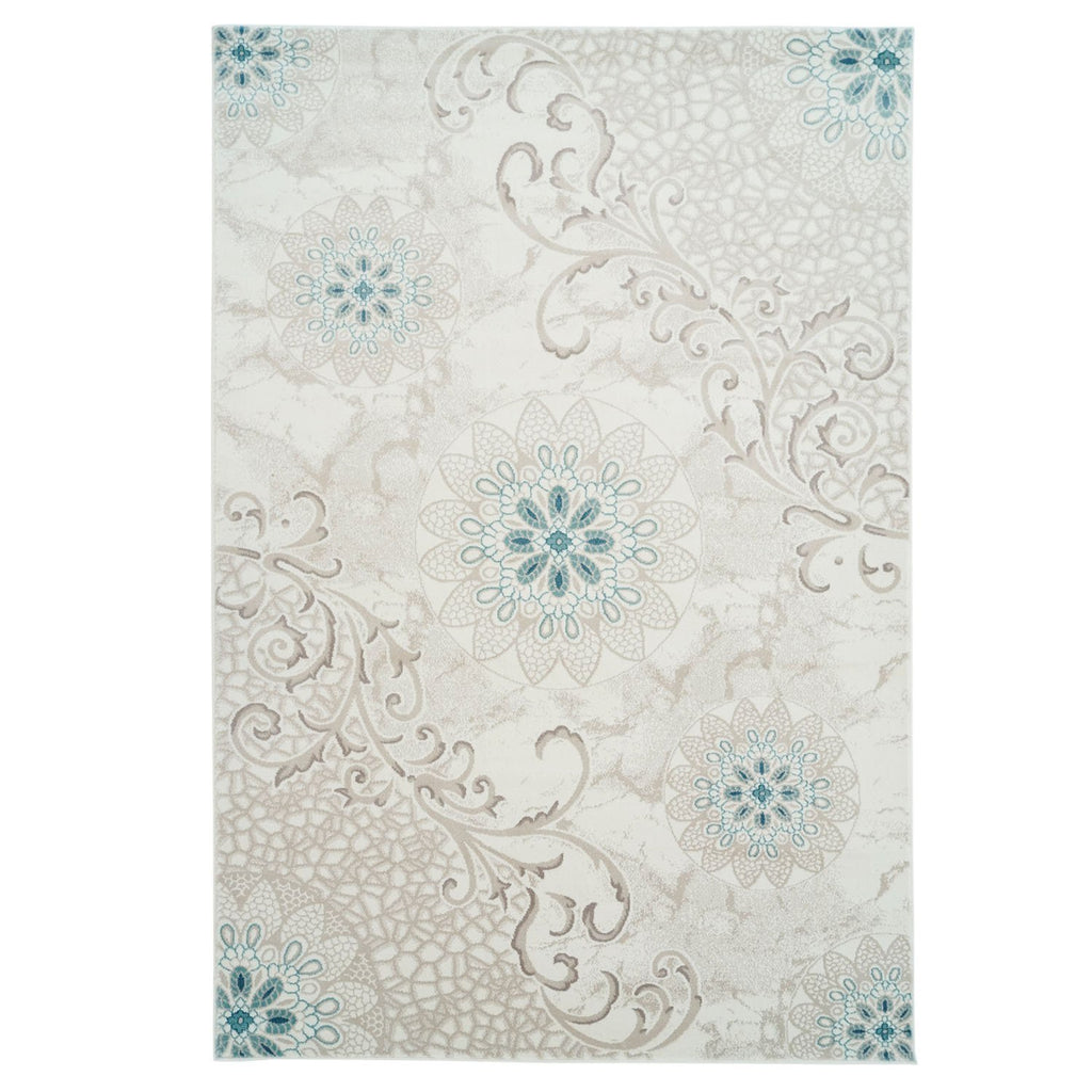 Lily Blue Area Rug