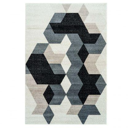 Sultan Area Rug Grey Black