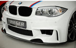 Carbon-Sword for BMW 1er E81/82/87/88 only for Rieger Front Typ 35030