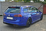 CENTRAL REAR SPLITTER VW GOLF MK7 R ESTATE (WITHOUT A VERTICAL BAR)