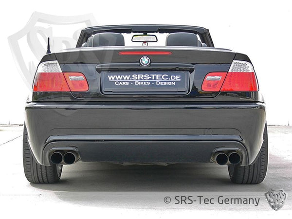 REAR BUMPER B3 DUPLEX (CLEAN), BMW E46