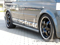 SIDE SKIRTS S4, VW T5