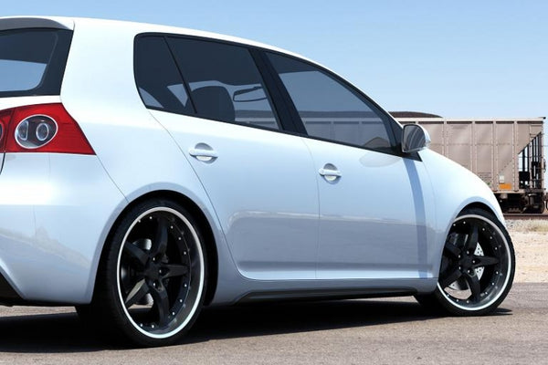 SIDE SKIRTS VW GOLF V MK6 GTI LOOK ABS PLASTIC