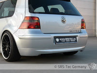REAR VALANCE JUBI-STYLE CLEAN, VW GOLF 4