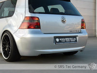 REAR BUMPER JUBI-STYLE, VW GOLF 4
