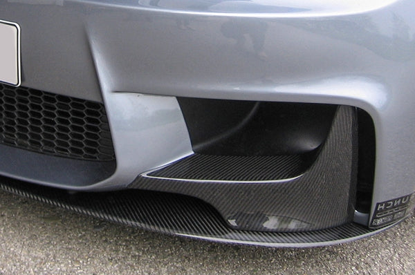 Carbon Splitter for front bumper Kerscher + M-look, the BMW 1 Series M