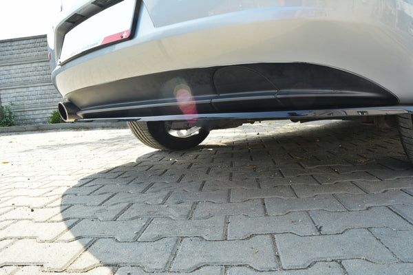 CENTRAL REAR SPLITTER ALFA ROMEO 159 (without vertical bars)