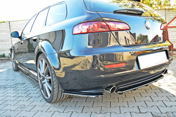 REAR SIDE SPLITTERS ALFA ROMEO 159