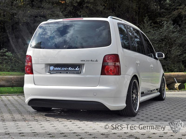 REAR APRON G5-R32 STYLE CLEAN, VW TOURAN
