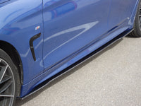 Carbon Side skirts attachment (R / L) for BMW F32 / 33/36