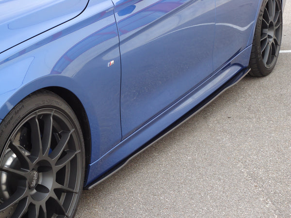 Carbon side skirts (R / L) for BMW F30 / 31