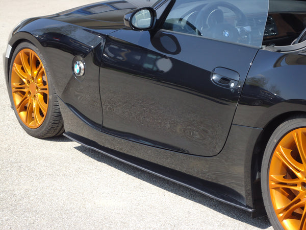 Carbon Side skirts (R / L) for BMW Z4