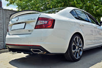 REAR SIDE SPLITTERS SKODA OCTAVIA III RS FACELIFT