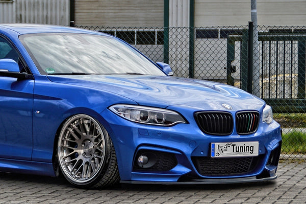 Front spoiler cup lip for BMW 2er F22 F23 M-package Ingo Noak
