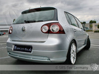 REAR VALANCE V-STYLE CLEAN, VW GOLF V