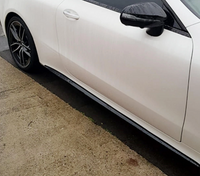 Mercedes-Benz E-Class Carbon Fiber Side Skirts Trim