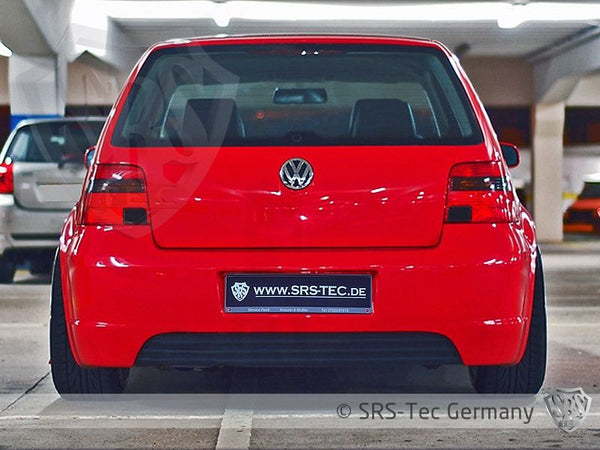 REAR DIFFUSER R-STYLE CLEAN, VW GOLF IV