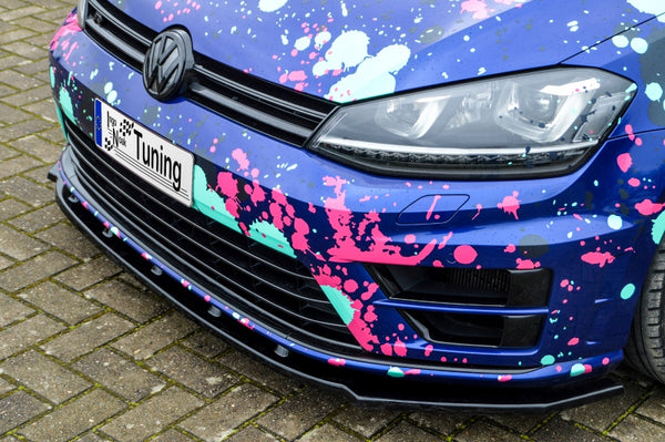 Cup front spoiler lip for VW Golf 7 R AU from 2014- Ingo Noak