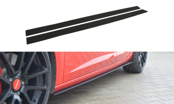 RACING SIDE SKIRTS DIFFUSERS SEAT LEON III CUPRA / FR