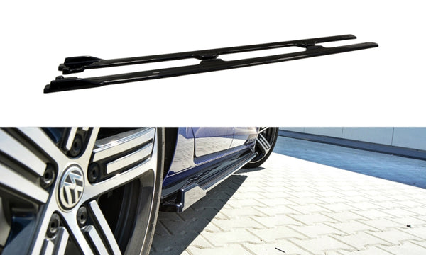 SIDE SKIRTS DIFFUSERS VW GOLF VII R (FACELIFT)