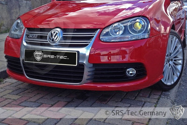 R32 FRONT BUMPER FOG LIGHT GRILLE SET, VW GOLF V