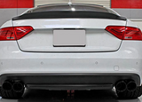 Audi S5 Coupe Carbon Fiber Rear Trunk Spoiler Boot Wing Lip