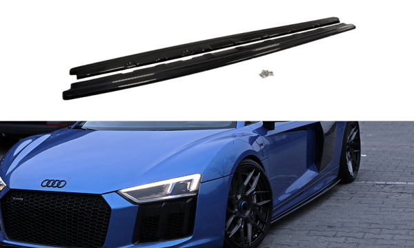 SIDE SKIRTS DIFFUSERS AUDI R8 II