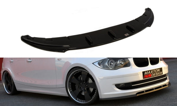 FRONT SPLITTER BMW 1 E81 / E87 (STANDARD FACELIFT MODEL)
