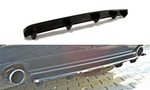 CENTRAL REAR SPLITTER ALFA ROMEO 159 (with vertical bars)