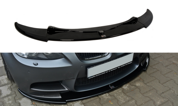 FRONT SPLITTER BMW M3 E92 / E93 (PREFACE MODEL FITS M PERFORMANCE SPLITTERS)
