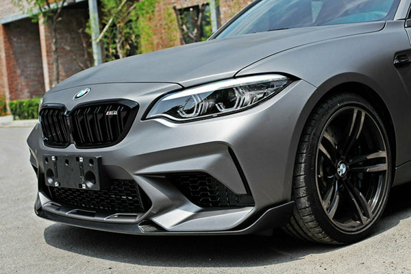 Front Lip Carbon Performance Style BMW M2 F87 Competition M2C
