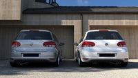 REAR VALANCE VW GOLF VI WITH 2 EXHAUST HOLE