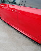 SIDE SKIRTS DIFFUSERS VW GOLF VI GTI 35TH / R20