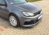 FRONT SPLITTER VW GOLF VI R CUPRA LOOK